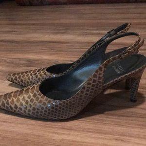 Stuart Weitzman sling back heels size 8.5.